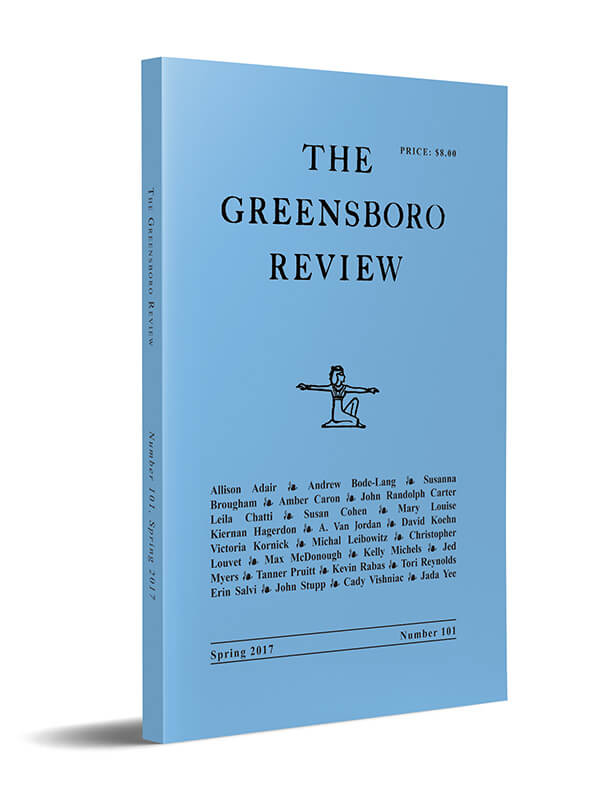 The Greensboro Review, Issue 101, Spring 2017