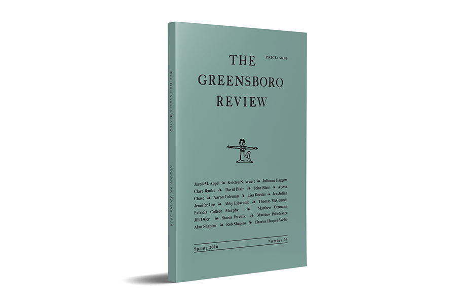 The Greensboro Review, Issue 99, Spring 2016
