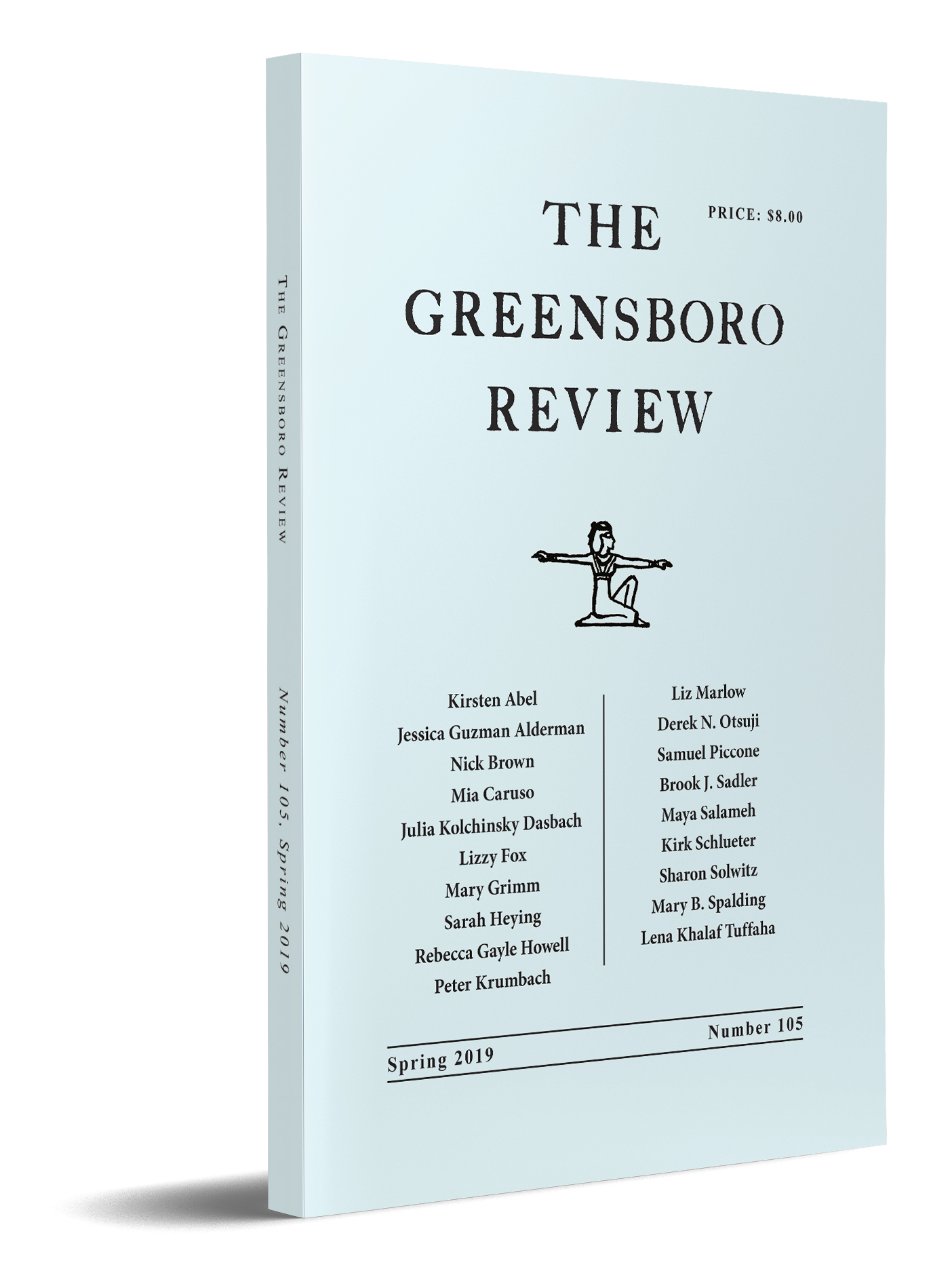 The Greensboro Review, Issue 105, Spring 2019