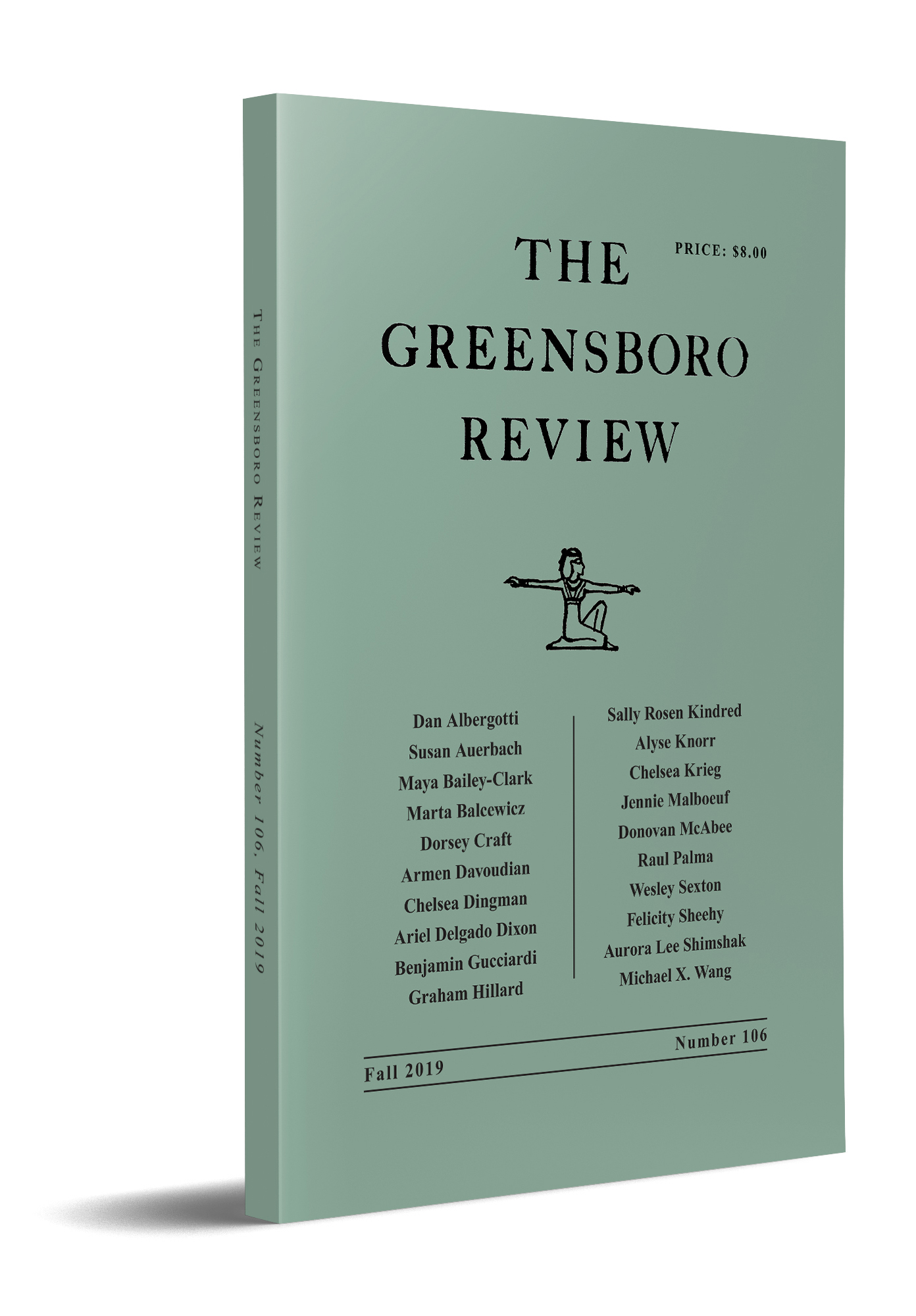 The Greensboro Review, Issue 106, Fall 2019